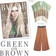 Earthy tones straight from a planet earth #editorial / Total #matfashion #outfit #inspiration • #realsize #fashion #summer2015 #collection #earthytones #instafashion #green #brown #ootd #plussizefashion #harpersbazaar #magazine #summertime #mediterraneancosmos