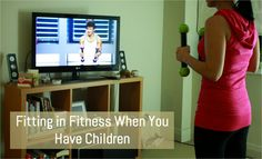 Fitting in Fitness When You Have Children