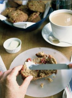 Barefoot Contessa - Recipes - Cranberry Harvest Muffins