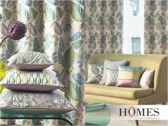 Recreate your #HomeDecor with #Floral #Patterns and give your #Home a magnificent look. Explore more on www.homesfurnishings.com #HomeFabrics #Cushions #Upholstery #Furnishings #HomesFurnishings