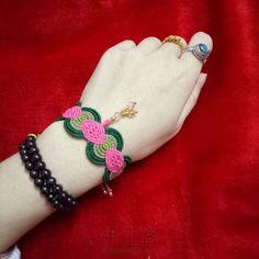 粉色系手绳