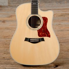 Taylor 810ce Dreadnought Acoustic-Electric Natural 2002 (s122)