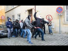 Nazis Attacked Social Center & #Actionday0602 Demo in Prague - YouTube