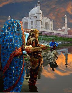 Photo taken in Agra, India by Deba Prasad Roy ***