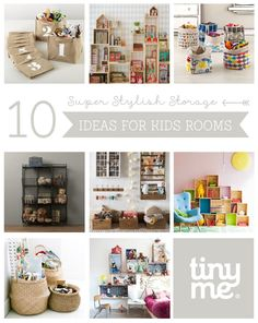 10 Super Stylish Storage Ideas for Kids Rooms