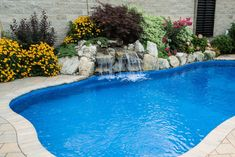 Having a pool sounds awesome especially if you are working with the best backyard pool landscaping ideas there is. How you design a proper backyard with a pool matters. Backyard Pool Landscaping, Backyard Pool Designs, Tropical Landscaping, Landscaping With Rocks, Garden Pool, Landscaping Ideas, Tropical Backyard, Backyard Ideas, Cheap Pool