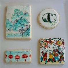 Arty McGoo: Asian Culture Inspired Cookies