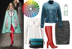 Koło barw - jak dobierać kolory?