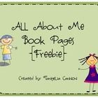 Use this packet to engage students in writing about themselves....