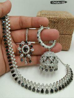 Necklace Set, Diamonds, Bracelets, Jewelry, Fashion, Moda, Jewlery, Jewerly, Fashion Styles