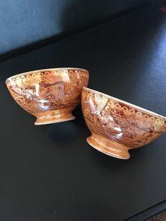 Rare Tea Cup Bowls By Petrus Regout & Co Maastricht Dutch Holland Transfer Ware  | eBay