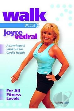 WALK WITH JOYCE VEDRAL (LOW-IMPACT WORKOUT FOR CARDIO HEALTH) www.collagevideo.com @CollageVideo #collagevideo #fit #fitness #workout #workoutdvds #success #goals #motivation