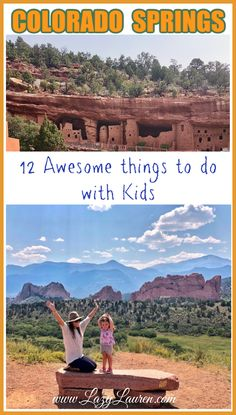 COS is consistently named one of the top family-friendly vacation destinations. Here's 12 fun things to do in Colorado Springs with kids! #coloradosprings #familytravel #coloradowithkids #coloradosringswithkids #thingstodoincoloradosprings