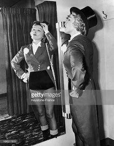 Madison Garden, Marlene Dietrich, Trying Ringmaster Costume