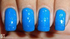 Esmalte Azul, Mohda + Esmalte Menina Macabra, Realce