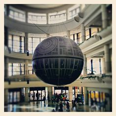 Just a giant Death Star in the middle of the convention center lobby. No big deal...