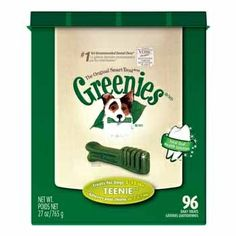 Greenies for the little one.