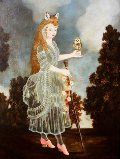 Fox Owl Anne Siems