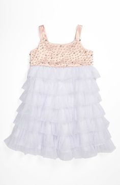 La Piccola Danza Kidswear Beaded Bodice Dress (Little Girls) available at Nordstrom