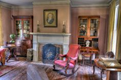 The interior of the Alexander Majors House may be rented to take wedding photographs with a stunning, historic background. Wedding Events, Weddings, Adventure, Interior, Photographs, Barn, House, Inspiration, Home Decor