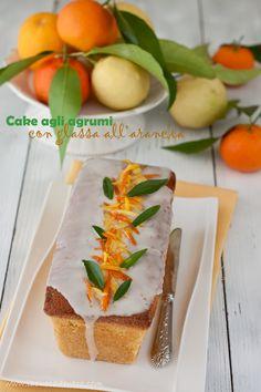 #Dolce agli agrumi #guarnito con la #glassa all'arancia @guarnireipiatti