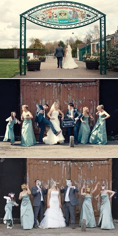 zoo wedding, image by Dottie Photography
