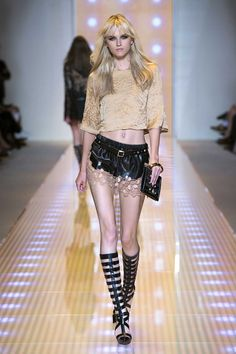 Women's fashion and accessories - SS 2013 - Fashion show collection - Versace 2012