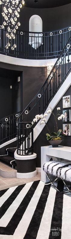 love designing and the use of black and white..Bella Donna