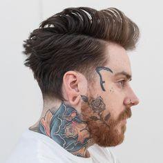 Medium Length Men's Side Part Haircut. #coolhaircuts #haircuts #menshaircuts #haircutsformen #menshairstyles #hairstylesformen #menshaircuts2018 #menshairstyles2018