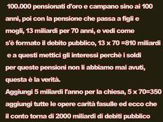 il popolo del blog,notizie,attualità,opinioni : VOTO M5S Perché SONO STANCA DI MANTENERE PARASSITI...