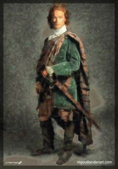 James Fraser - Outlander (easy) (70 pieces)