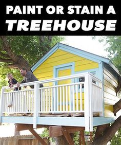 Get inspired and come up with the perfect color scheme for your kids' treehouse. Don't forget to customize it further with decorative touches to make it truly your family's own!