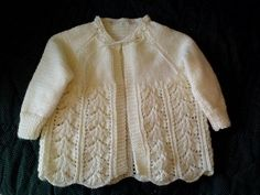 Ravelry: Project Gallery for Baby Layette - Jacket. & Bonnet pattern by Bernat Design Studio