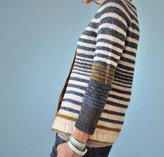 MarlOn cardigan pattern by La Maison Rililie Designs