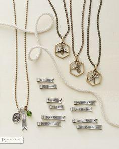 Jewel Kade charm necklaces. Customize to make your own!  alishayoder.jewelkade.com