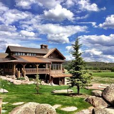 Check out this slideshow The Main Lodge at Brush Creek Ranch, Wyoming in this list On the Trail: Rocky Mountain Ranch Vacations