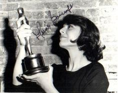"""Anne Bancroft Here with her Oscar for Best Actress that year. The film: """"The Miracle Worker"""" Academy Award Winners, Oscar Winners, Academy Awards, Best Actress Award, Best Actor, The Miracle Worker, Real Movies, Anne Bancroft, Oscar Night"""