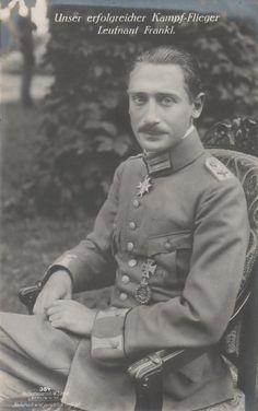 Héroe de la guerra judía: El piloto de combate judía Wilhelm Frankl, aquí en un ...