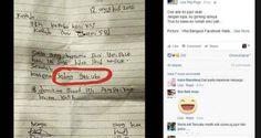 Surat Izin Tidak Masuk Sekolah Yang Bikin Ketawa