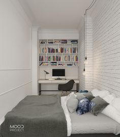 bedroom/office/kamienica