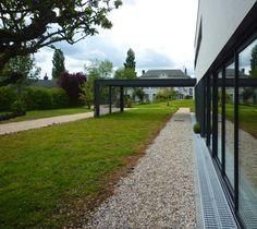 """Vue Extérieure - Studio Photographique """"La Belle Vie"""" - 2011 Agence BO.A - Agence Architecture à Rouen (France) #boarchitecture"""