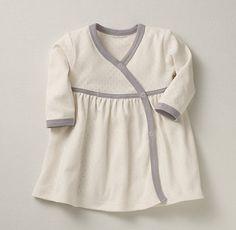Organic Jersey Layette Dress   Restoration Hardware Baby & Child