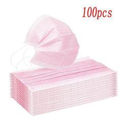 Flu Mask, Gua Sha Tools, Mask Online, Face Wrinkles, Massage Roller, Neck Massage, Mouth Mask, Pink Color