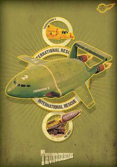 Solopress.com Design Inspiration: FAB Thunderbirds posters are go!