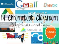 Happy Monday, friends! Today, I had a training where we talked to other teachers about our 1:1 Chromebook classrooms and shared sites that worked for us. I thought it might be beneficial to share with