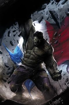 Hulk by Francesco Mattina