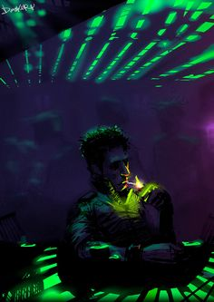 Case on the Chatsubo's Bar The Most Beautiful Art Based on William Gibson's Neuromancer
