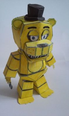 FNAF Papercraft - Spring Freddy Im2 by Paperlist