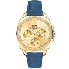 Relógio Feminino Aço e Couro Coach - 14502124