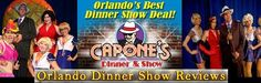 Capone's dinner show Orlando Florida - The staff is hysterical, great show!